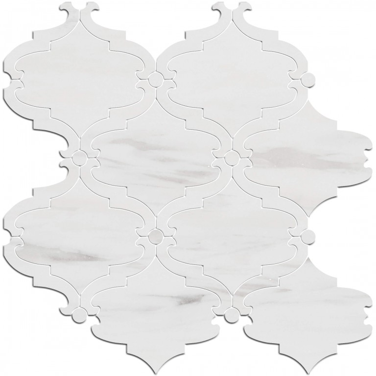 0.85 SFT/SH Honed Bellagio Bianco Dolomite Marble Tile