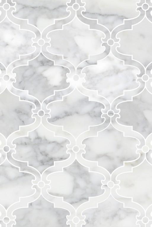 0.85 SFT/SH Polished Bellagio Calacatta Gold Marble Tile