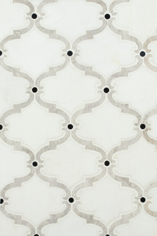 0.85 SFT/SH Polished Bellagio Thassos Marble Tile