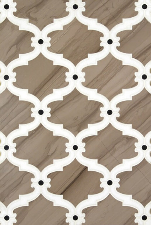 0.85 SFT/SH Polished Bellagio Valentino Marble Tile