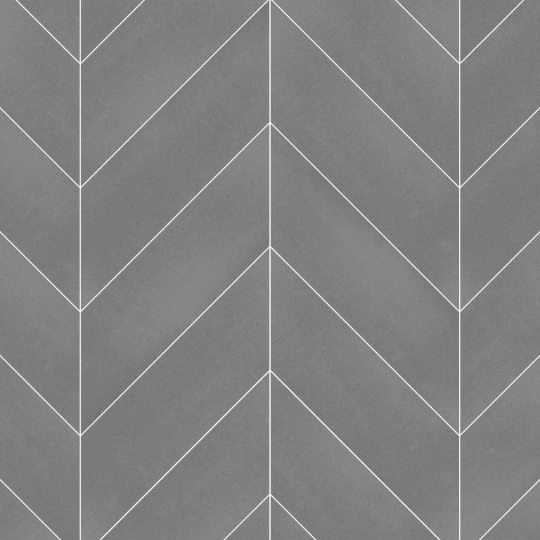 0.183 SFT/SH Honed Chevron Greyson Marble Tile