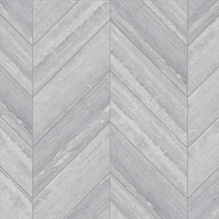 0.183 SFT/SH Chevron Ponza Verde Marble Tile