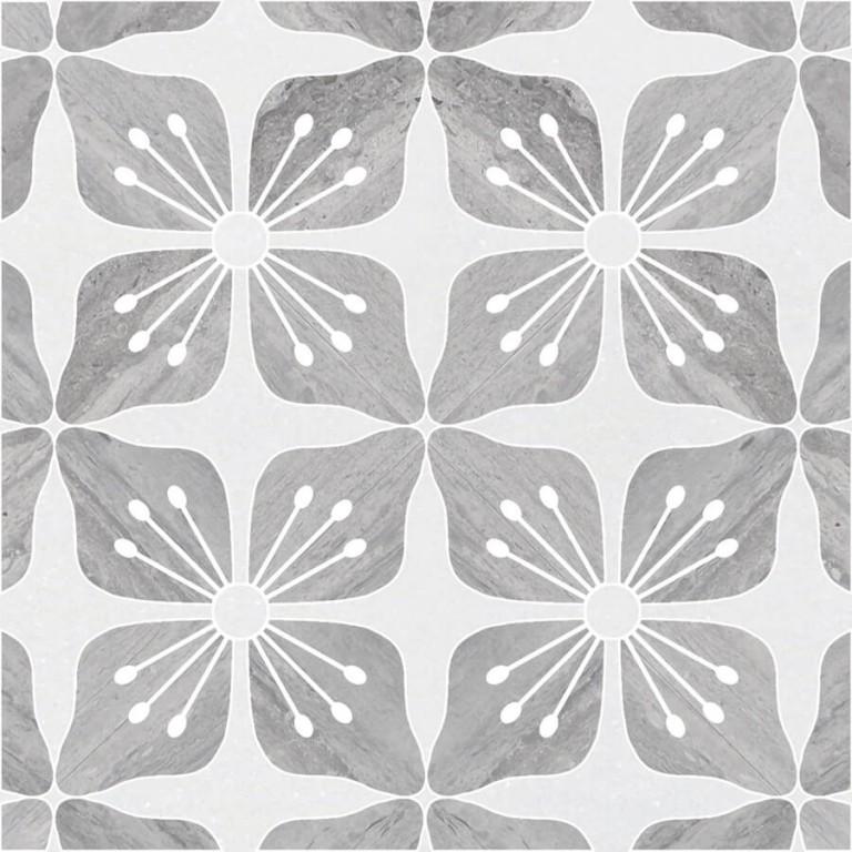0.43 SFT/SH Honed Eleanor Thassos Marble Tile