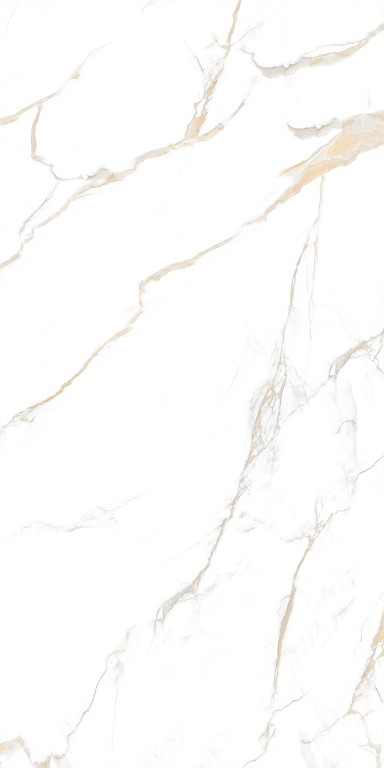 """Calacatta Gold 12""""X24"""" Polished Rectified Porcelain Tile"""