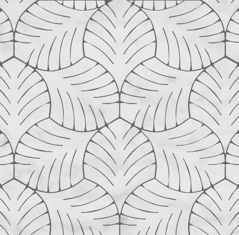 0.5 SFT/SH Polished Majestic Bianco Carrara Marble Tile